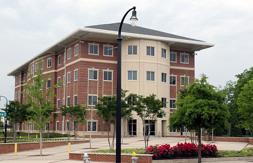 A modern Morehouse College building designed to blend in ...