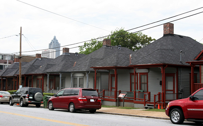 In 1905 Wooden Shotgun Houses Like These In The 400 Block