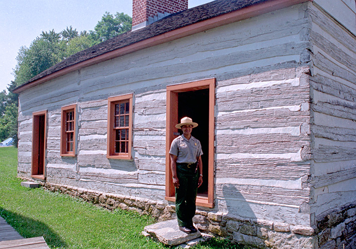 Historic slave quarters restored at Hampton Plantation