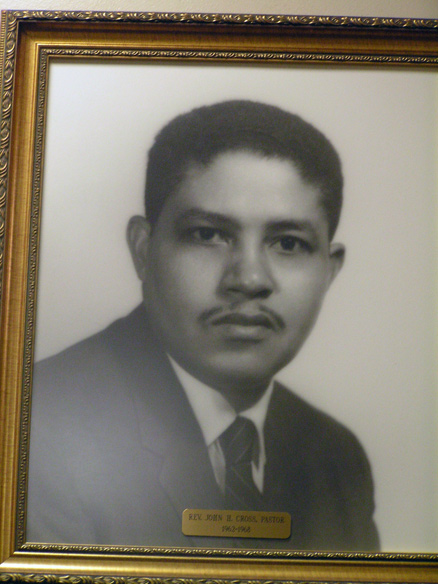 Rev cross was pastor at 16th street baptist church during the bombing