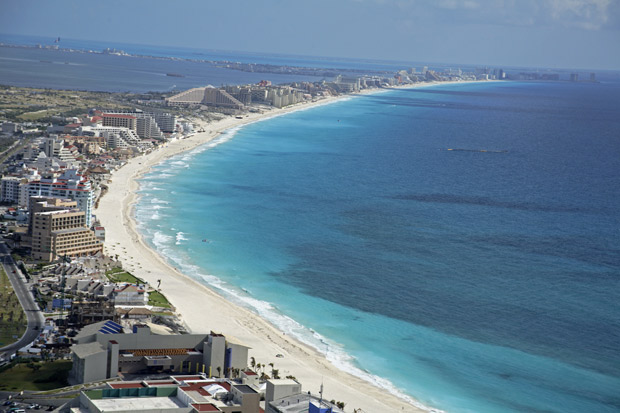 Cancun, Mexico's #1 tourist destination;