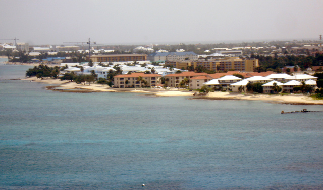 Grand Cayman shoreline
