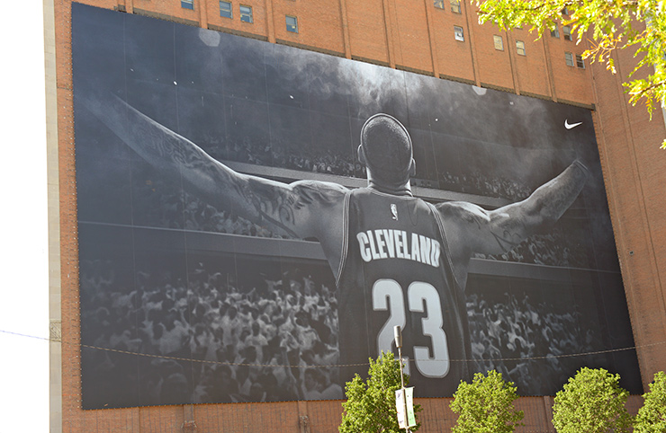 LeBron James leader of the Cleveland Cavaliers
