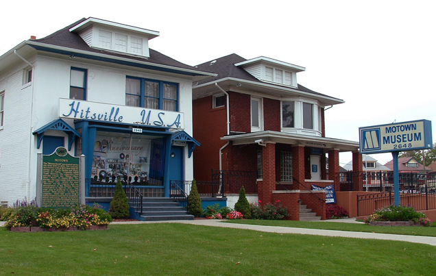 Motown Museum, also known as Hitsville USA in Detroit