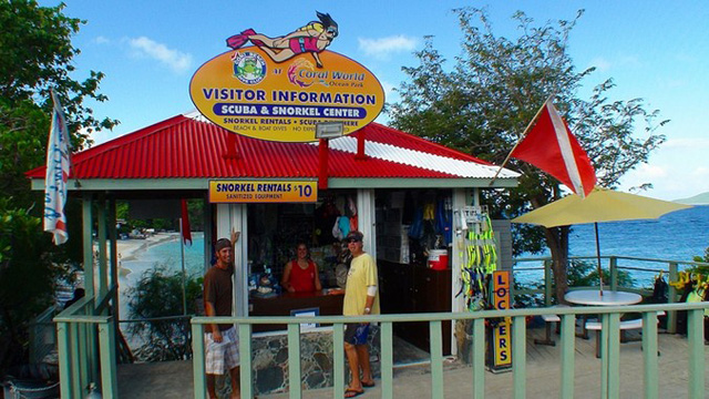 Coki Beach Dive Shop, St. Thomas, USVI