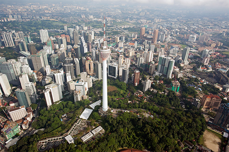 KL Tower aerial