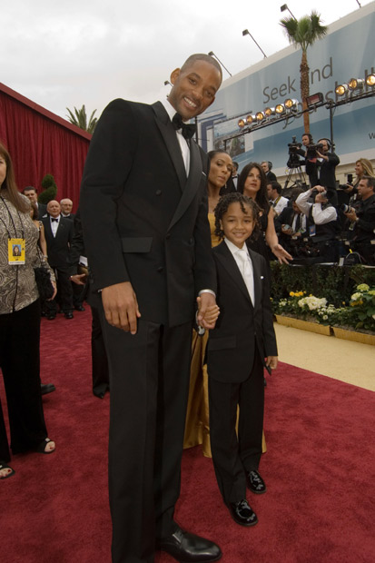 will smith son. Will amp; Jada Smith with son at