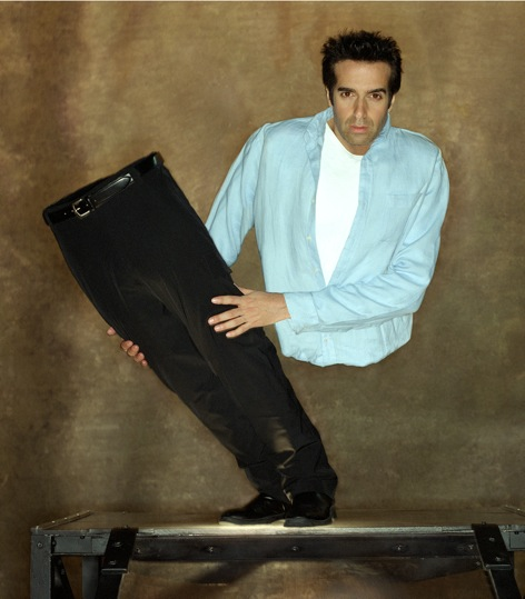 Master illusionist, David Copperfield at the MGM Grand