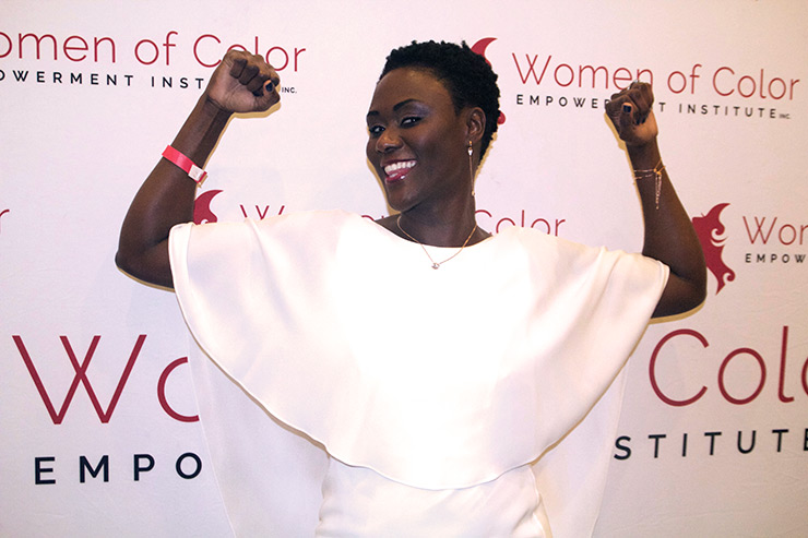 Wilda at 7th Women Of Color Empowerment Conference (WOCEC), Fort Lauderdale