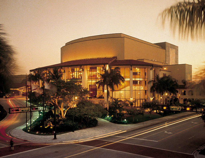 Broward County Center for Performing Arts in Fort Lauderdale