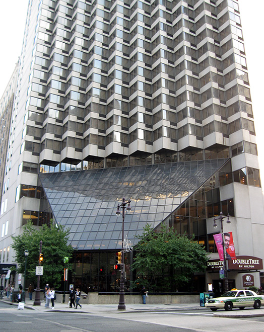 Doubletree Hotel At 237 South Broad Street Philadelphia