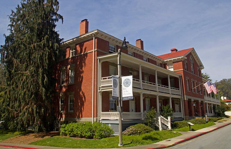 Inn at the Presidio earns status one of the highest ranked hotels in San Francisco