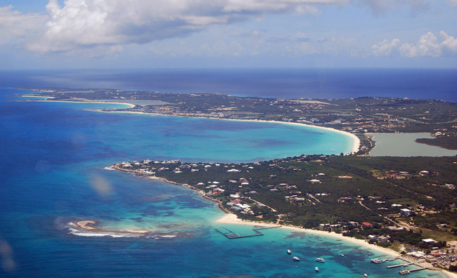 Western side of Anguilla