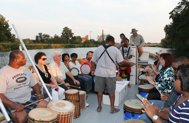 Moonlight Music Cruise on the  Augusta canal