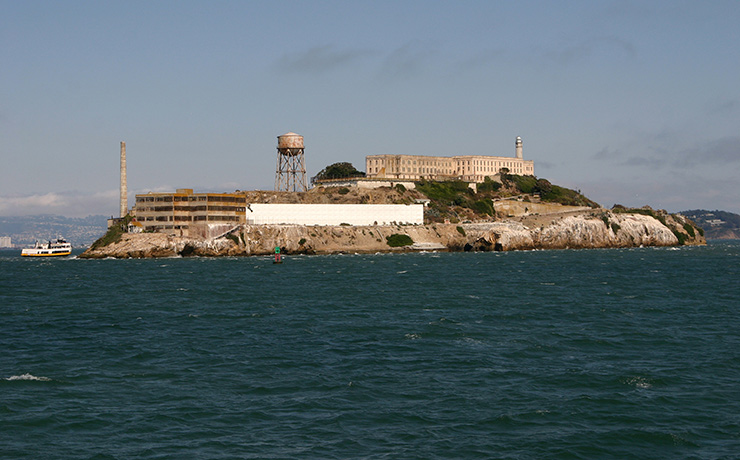 Look closer at Alcatraz, and see why they call it, The Rock